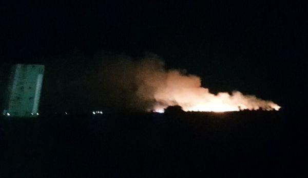 От последните минути: Голям пожар вилнее много близо до Пловдив