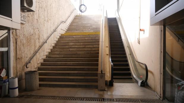 Проблем с част от ескалаторите на Централна гара Пловдив