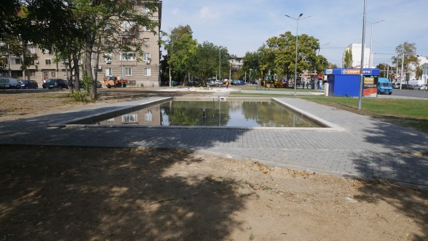 Фонтан ще краси новия парк на бул.